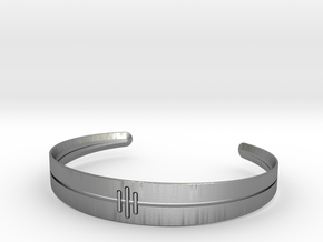 Stitch Bracelet in Natural Silver: Small