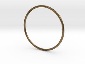 Andromeda Bracelet in Natural Bronze: Small