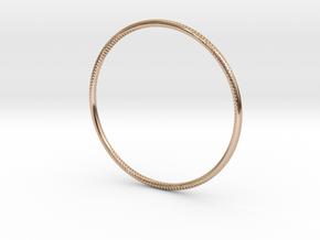 Andromeda Bracelet in 14k Rose Gold Plated Brass: Small