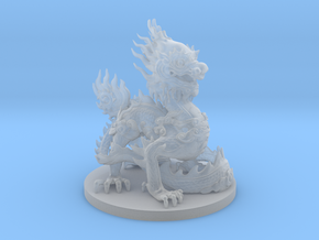 Imperial dragon in Smooth Fine Detail Plastic