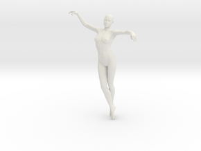 Woman Body in White Natural Versatile Plastic