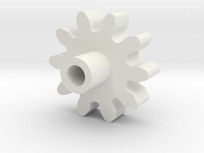 Rapidstrike Gear1 (Steel or Nylon) in White Natural Versatile Plastic