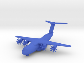 A400M w/Gear in Blue Processed Versatile Plastic: 1:350