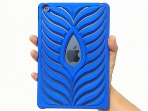 Ipad Mini Case in Blue Strong & Flexible Polished