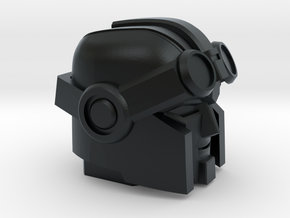 Whiny Hauler's Head on a Tank in Black Hi-Def Acrylate