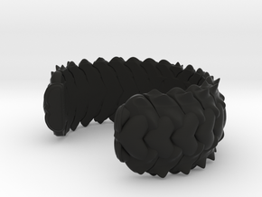 HYBRID CUFF  in Black Strong & Flexible: Small