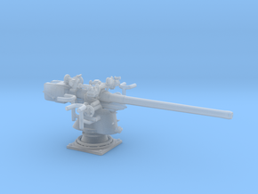 1/72 Germany 8.8 cm SK C/35 Naval Gun in Smooth Fine Detail Plastic