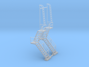 NYC - OW, HS & DV Towers - Stair (2X) in Smooth Fine Detail Plastic