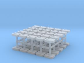 1/32 Scale Rectangular Slamlocks in Smooth Fine Detail Plastic