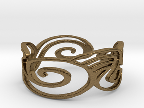 Ring Design Ring Size 6.25 in Natural Bronze