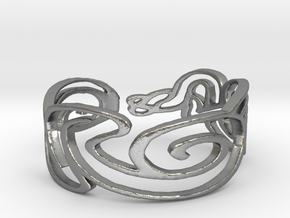 Bracelet Design Women in Natural Silver