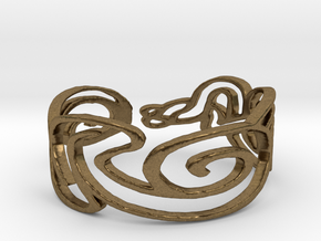 Bracelet Design Women in Natural Bronze