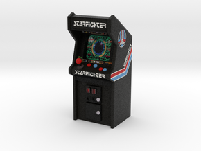 "3 3/4"" Scale Last Starfighter Arcade Game in Full Color Sandstone: Medium"