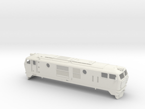 Locomotive FAUR class 76 in White Natural Versatile Plastic