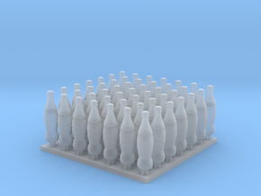 1/35, 1/16 Classic Coca-Cola Bottles MSP35-048 in Smooth Fine Detail Plastic: 1:35