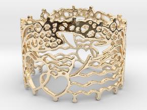 Dolphin Bracelet in 14K Yellow Gold
