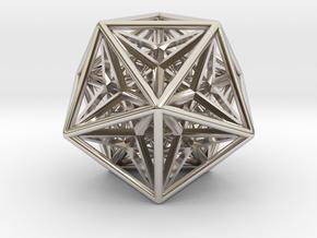 Super Icosahedron in Platinum
