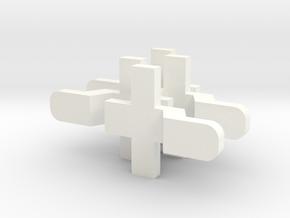 GL SILVERADO STOCK 4 PACK in White Processed Versatile Plastic