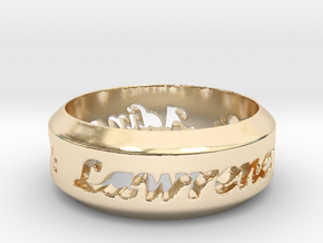 Anniversary Ring - May 7, 1990 in 14K Yellow Gold: 12 / 66.5