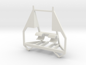 Bot Chassis in White Strong & Flexible