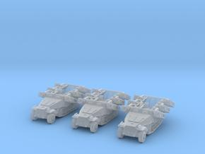 Sd.kfz 251 stuka 1/350 x3 in Smooth Fine Detail Plastic