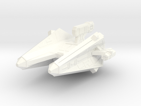 Thorlian Y4 Torpedo Cruiser in White Processed Versatile Plastic