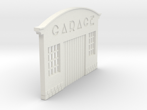 Z-1-101-garage-1 in White Natural Versatile Plastic