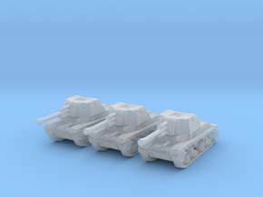 TAcam tank R2 1/350 in Smooth Fine Detail Plastic