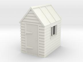 G-87-garden-shed-1 in White Natural Versatile Plastic