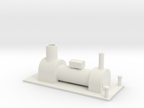 B-87-y6-tram-loco-boiler-1 in White Strong & Flexible