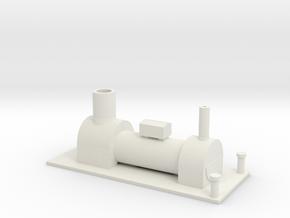 B-87-y6-tram-loco-boiler-1 in White Natural Versatile Plastic