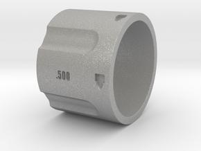 500 5-Shot Revolver Cylinder, Ring Size 12 in Aluminum