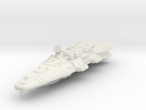 Colonial Battlecruiser in White Strong & Flexible