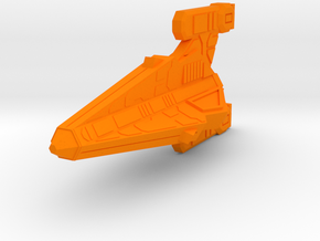 Thorlian Y3 Light Cruiser in Orange Processed Versatile Plastic