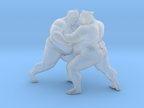 Japanese Sumo 019 in Smooth Fine Detail Plastic: 1:40