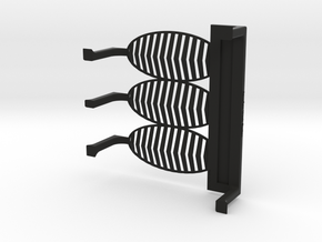 Aquaflow Mouse Depilation Station in Black Natural Versatile Plastic