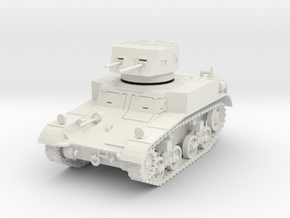 PV14A M1 Combat Car (28mm) in White Strong & Flexible