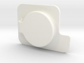 HEBEL NOTKNOPF in White Processed Versatile Plastic