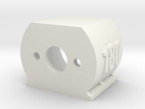 Motor Mount 180 - Version 2 in White Strong & Flexible