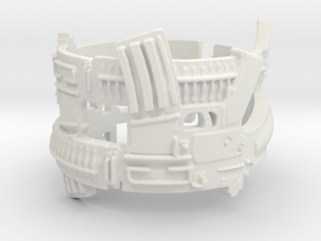 Dual AR-15s Ring #1 Ring Size 7.5 in White Strong & Flexible