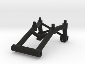 041001-01 Frog Rear Wing Mount in Black Natural Versatile Plastic