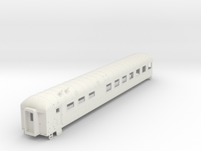D&RGW Dinner Car in White Natural Versatile Plastic