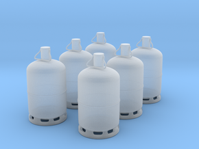 1/60 bouteille de gaz / gas bottle X 6 in Frosted Ultra Detail