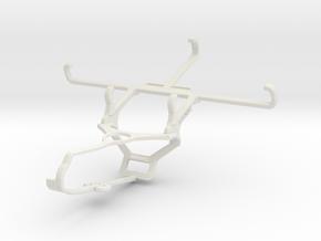 Controller mount for Steam & Motorola Moto G5 - Fr in White Natural Versatile Plastic