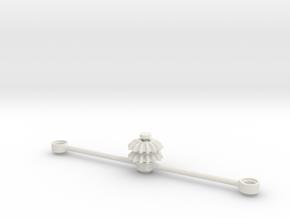 Steering Set for Ingmar Spijkhoven Trucks in White Natural Versatile Plastic