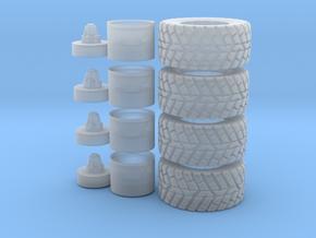 1:50 LW Reifen Ø 26.00mm B 11.50mm in Smooth Fine Detail Plastic
