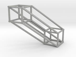 Small 4D Hypercube in Aluminum