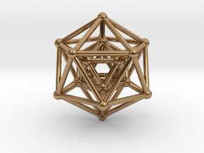 Hyper Icosahedron in Polished Brass