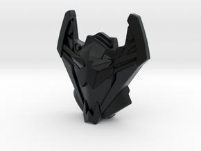 Sideways, Cybertron Face (Titans Return) in Black Hi-Def Acrylate