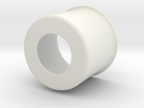 Koozie in White Natural Versatile Plastic